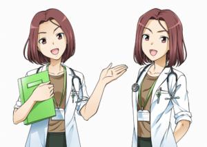 伊藤園健康コミュニティWEB用キャラクター